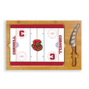 Cornell Big Red Hockey Rink Serving Tray & Cutting Board