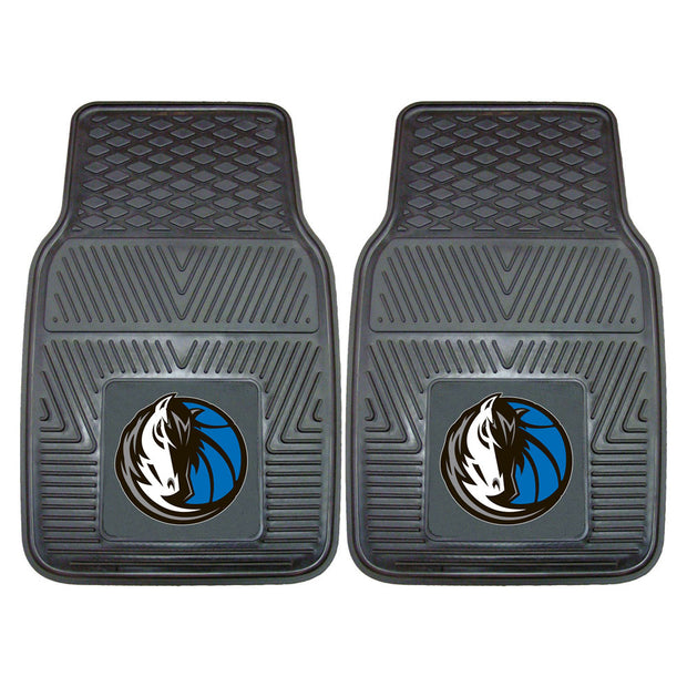 Heavy Duty Vinyl Dallas Mavericks Floor Mat Set - Team Sports Gift