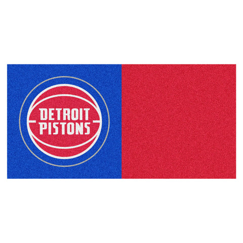 Detroit Pistons Red/Blue Team Proud Carpet Tiles
