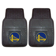 Heavy Duty Vinyl Golden State Warriors Floor Mat Set
