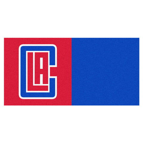 Los Angeles Clippers Red/Blue Team Proud Carpet Tiles