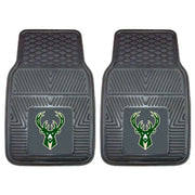 Heavy Duty Vinyl Milwaukee Bucks Floor Mat Set - Team Sports Gift