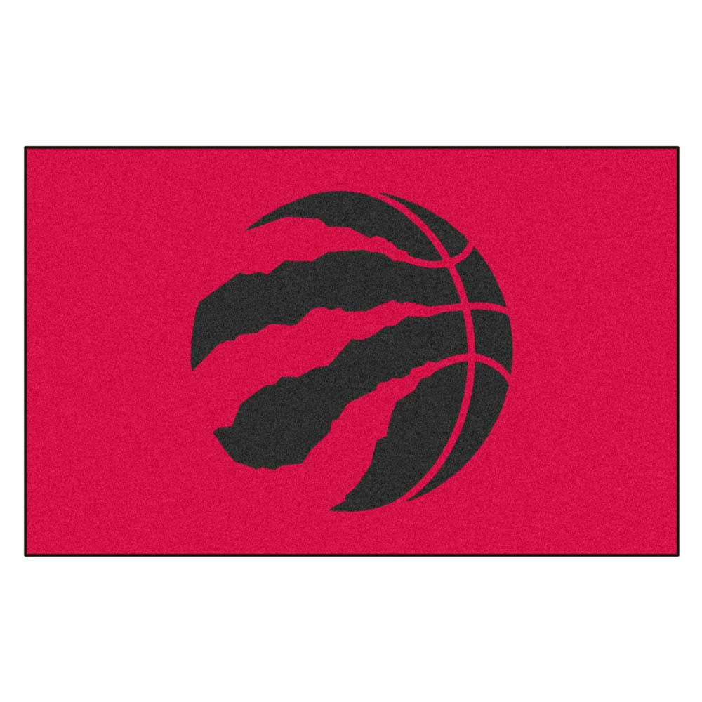 Toronto Raptors Black Tufted Area Rug