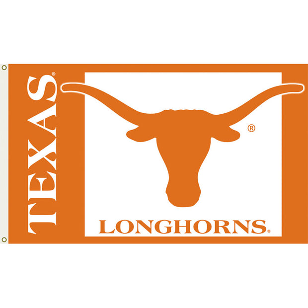 Texas Longhorns Logo House Flag
