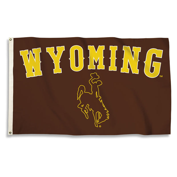 Wyoming Cowboys House Flag
