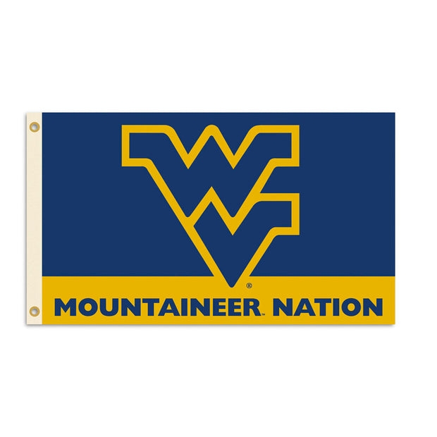 West Virginia Mountaineers Team Nation Flag