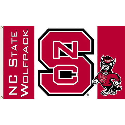NC State Wolfpack House Flag