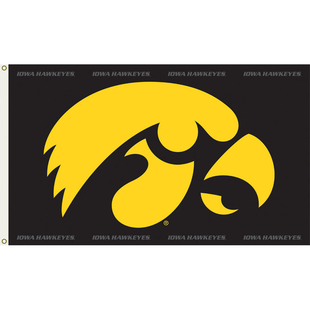 Iowa Hawkeyes Team Spirit Flag