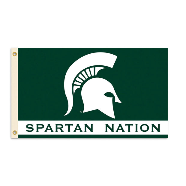 Michigan State Spartans Team Nation Flag
