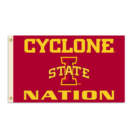 Iowa State Cyclones Team Nation Flag