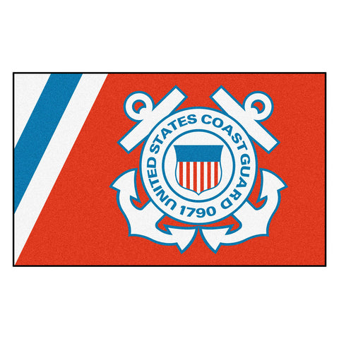 Coast Guard Bears Ultra Plush Area Rug
