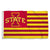 Iowa State Cyclones Team Logo Stripe Flag - Team Sports Gift