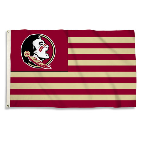 Florida State Seminoles Realtree Camouflage Flag