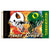 Oregon Ducks-Oregon State Beavers House Divided Flag - Team Sports Gift