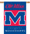 Ole Miss Rebels 2-Sided Outdoor Banner Flag - Team Sports Gift