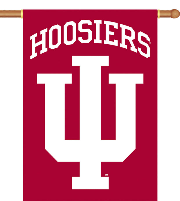 Indiana Hoosiers 2-Sided Outdoor Banner Flag