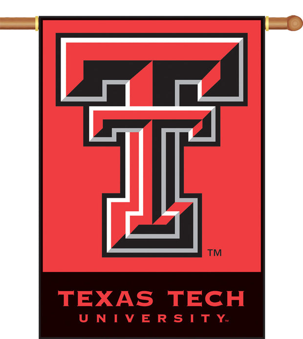 Texas Tech Red Raiders 2-Sided Outdoor Banner Flag