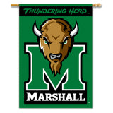 Marshall Thundering Herd 2-Sided Outdoor Banner Flag