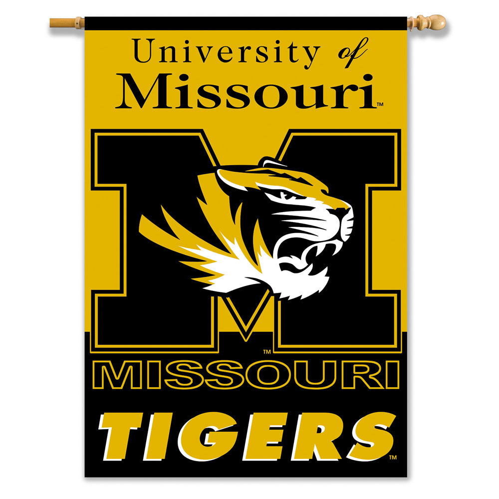Missouri Tigers 2-Sided Outdoor Banner Flag