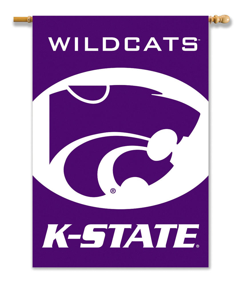 Kansas State Wildcats 2-Sided Outdoor Banner Flag