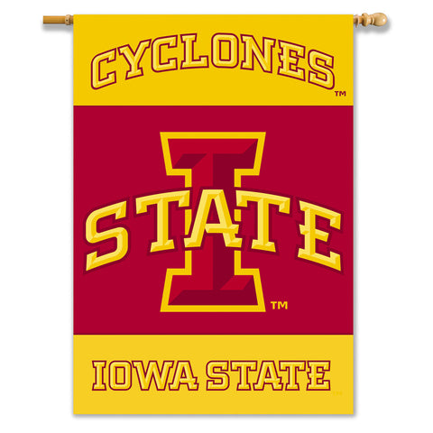 Iowa State Cyclones 2-Sided Outdoor Banner Flag