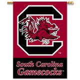 South Carolina Gamecocks Mascot Banner Flag
