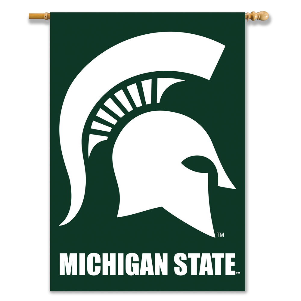 Michigan State Spartans 2-Sided Outdoor Banner Flag
