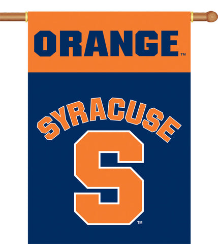 Syracuse Orange 2-Sided Outdoor Banner Flag