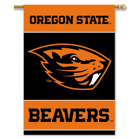 Oregon State Beavers 2-Sided Outdoor Banner Flag