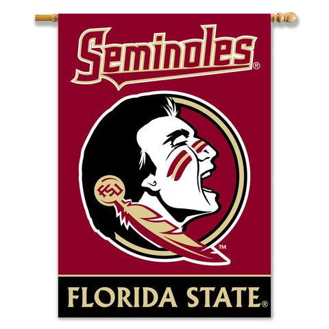 Florida State Seminoles 2-Sided Outdoor Banner Flag