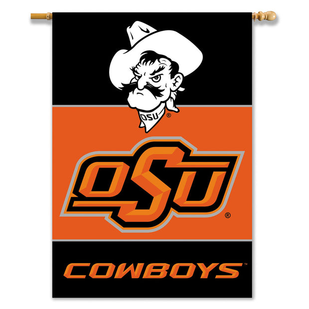 Oklahoma State Cowboys 2-Sided Outdoor Banner Flag