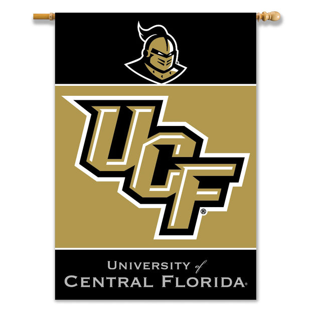 UCF Golden Knights 2-Sided Outdoor Banner Flag