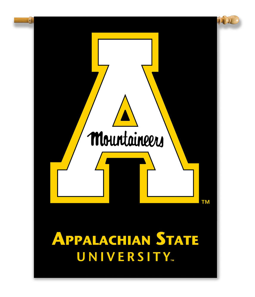 Appalachian State Mountaineers 2-Sided Outdoor Banner Flag