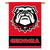 Georgia Dawg 2-Sided Outdoor Banner Flag - Team Sports Gift