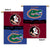 Florida Gators Florida State Seminoles 2-Sided Outdoor Banner Flag - Team Sports Gift