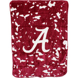 Alabama Crimson Tide Hi Pile Raschel Knit Blanket