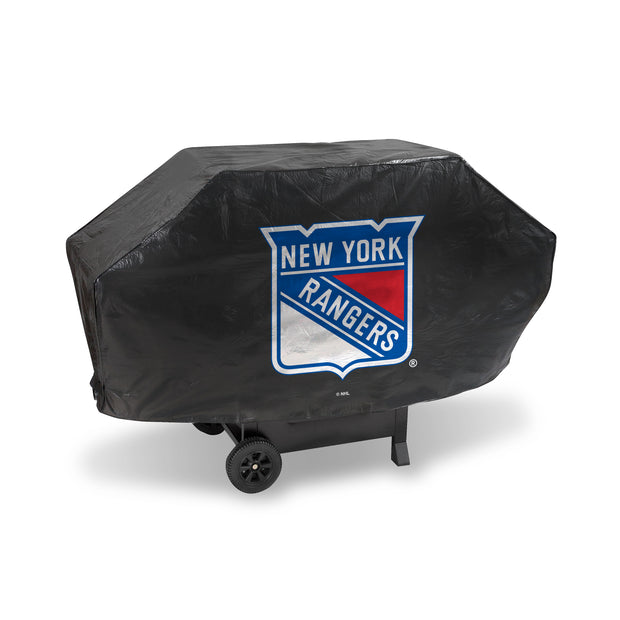 New York Rangers Heavy-Duty Deluxe Vinyl Grill Cover