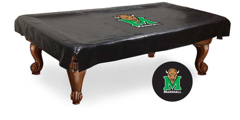 Marshall Thundering Herd Billiard Table Cover