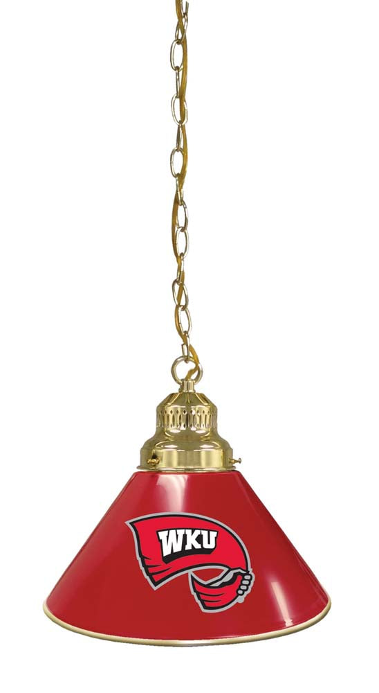 Western Kentucky Hilltoppers Pub Pendant Light