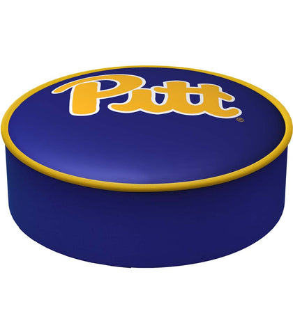 Pittsburgh Panthers Blue Slip-On Bar Stool Cover