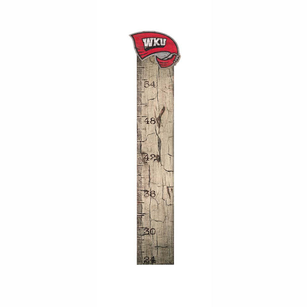 Rustic Wood Western Kentucky Hilltoppers Growth Chart