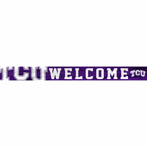 TCU Horned Frogs Welcome Block