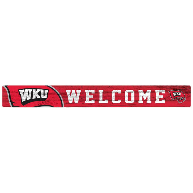 Western Kentucky Hilltoppers Welcome Block