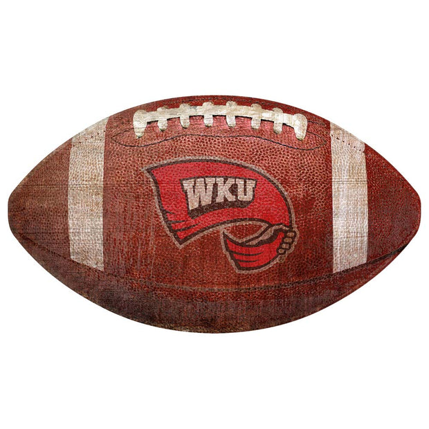 Western Kentucky Hilltoppers Football Novelty Sign