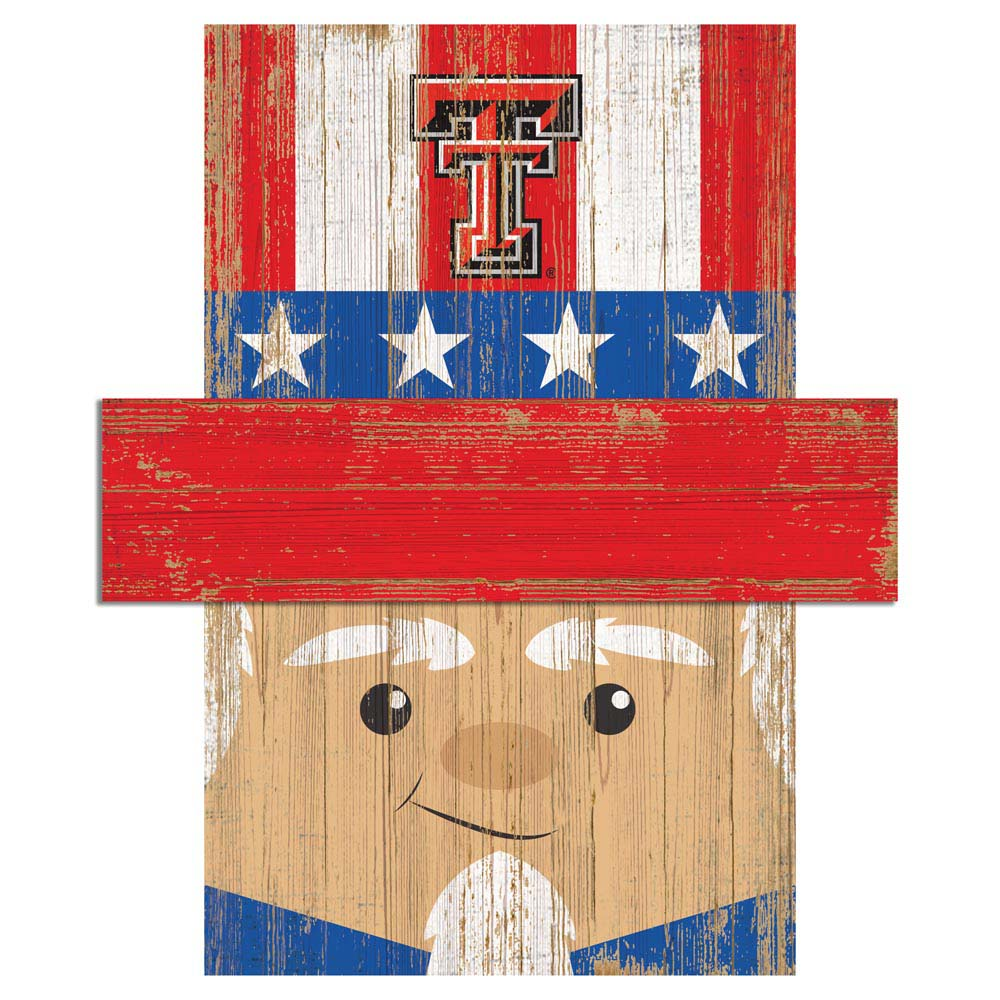 Uncle Sam Loves The Texas Tech Red Raiders Wall Art