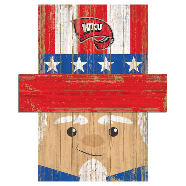 Uncle Sam Loves The Western Kentucky Hilltoppers Wall Art