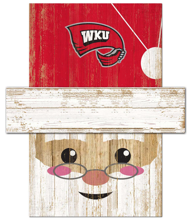 Western Kentucky Hilltoppers Santa's Day Off Wall Art
