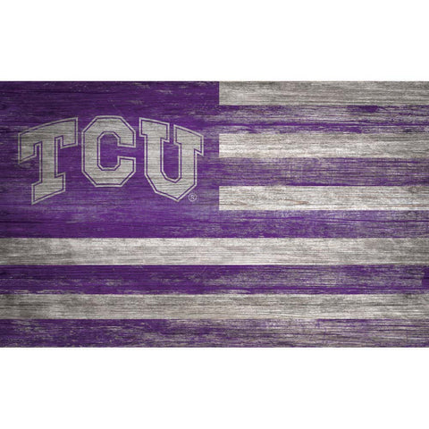 TCU Horned Frogs Flag Wall Decor