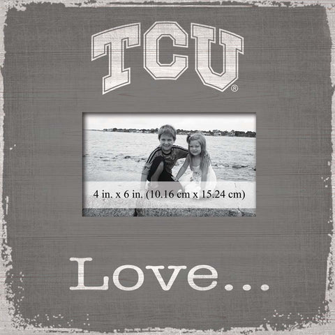 TCU Horned Frogs Love Photo Frame