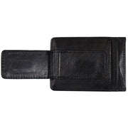 New York Jets Genuine Leather Front Pocket Wallet with Money Clip